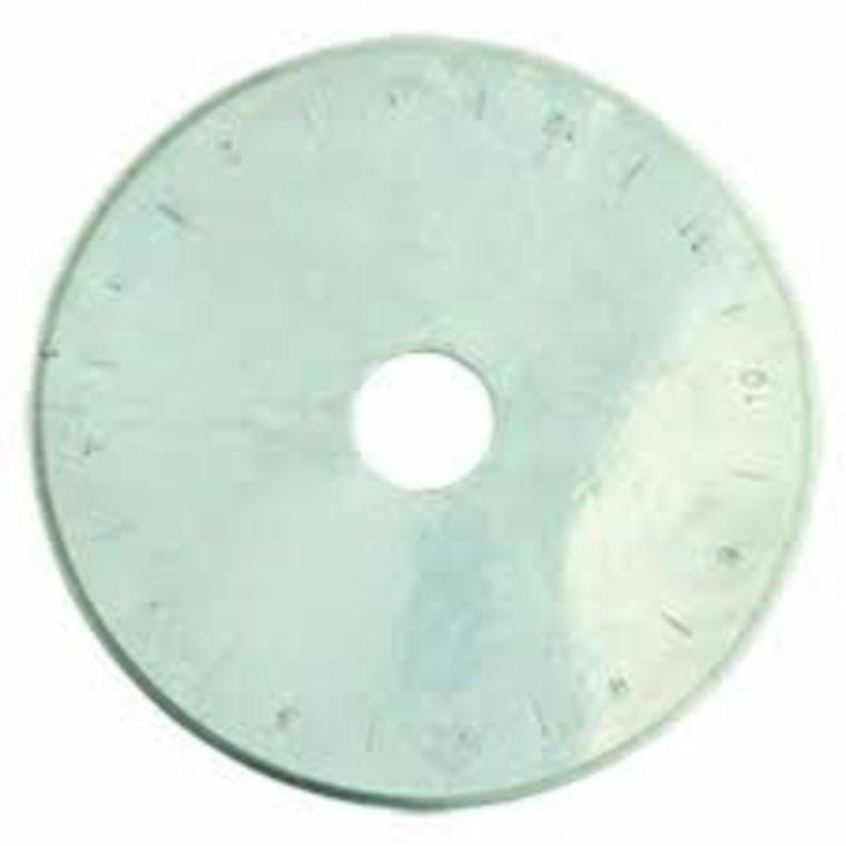 Reserve mes voor de rotary cutter