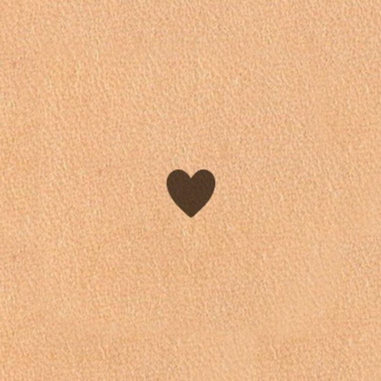 Ivan Leathercraft Figuur holpijp hart, div. afmetingen