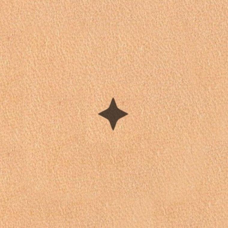 Ivan Leathercraft Figuur holpijp ster 4,0 mm