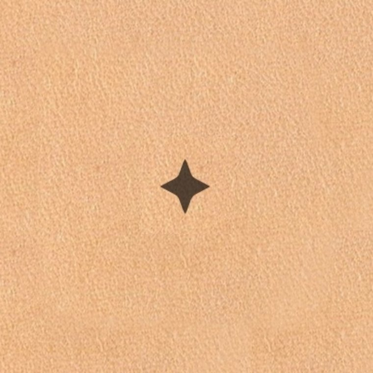 Ivan Leathercraft Figuur holpijp ster 8,0 mm
