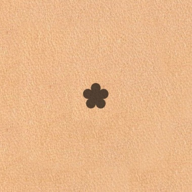 Ivan Leathercraft Figuur holpijp bloem 3 mm 3875-02
