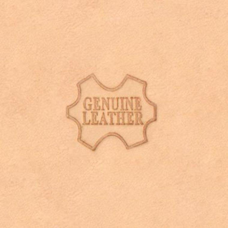 Figuurstempel Genuine Leather
