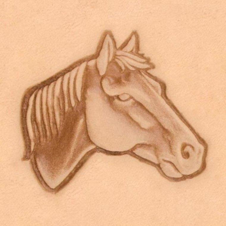 Ivan Leathercraft 3D Paardenhoofd rechts