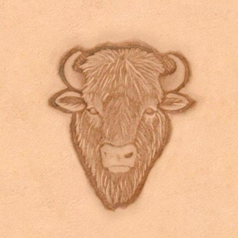 Ivan Leathercraft 3D Buffel stempel