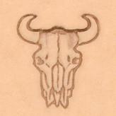 3D Buffel schedel 88312-00