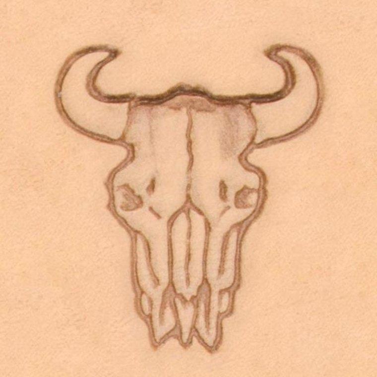 3D Buffel schedel