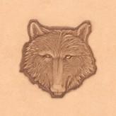 3D Wolf stempel