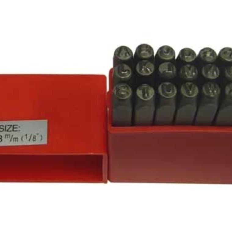 Alfabet set Block 3 mm 3023-00