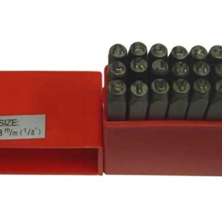 Ivan Leathercraft Alfabet set Block 3 mm