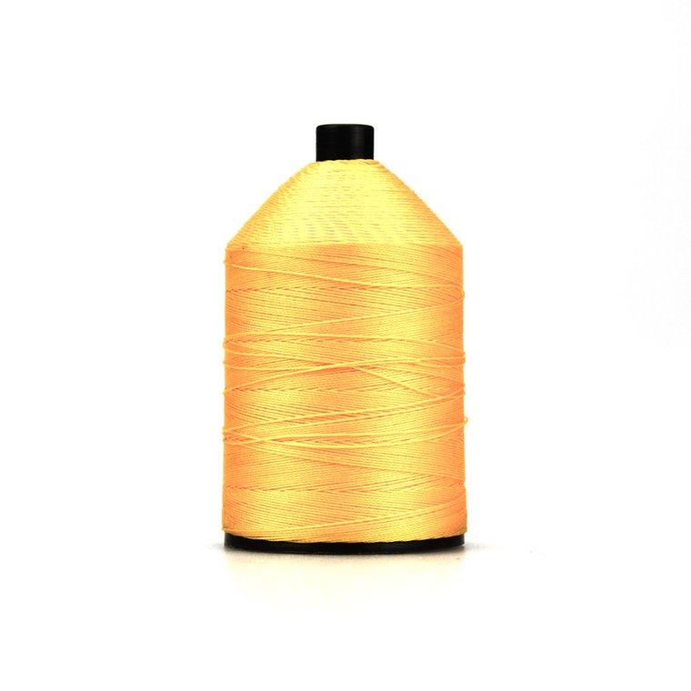 Nylon garen gebondeerd, dikte 40, saffraangeel