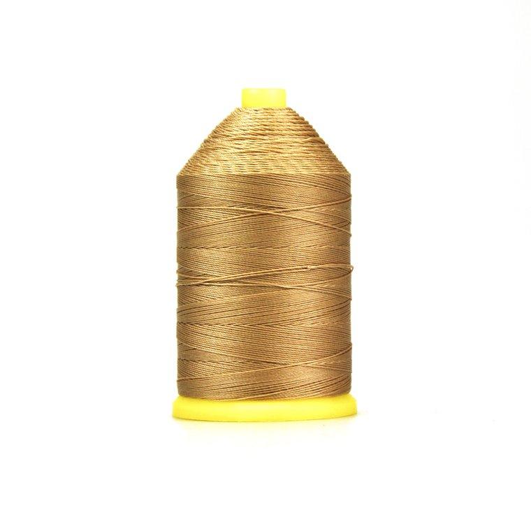 Nylon garen gebondeerd, dikte 40, goudgeel
