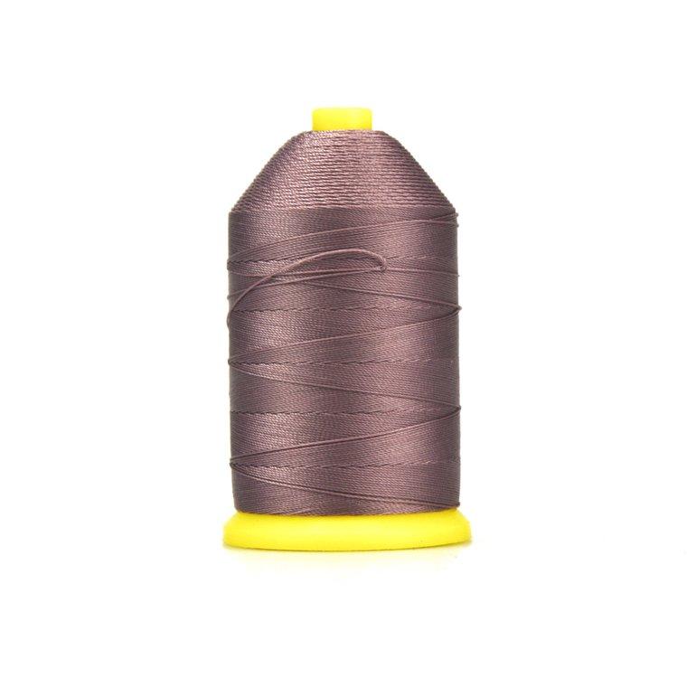 Nylon garen gebondeerd, dikte 40, paarsbruin