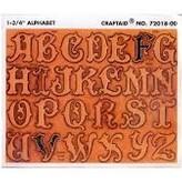 Sjabloon voor alfabet letters