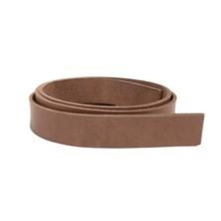 Stroken tuigleer bruin dikte 2,5 mm