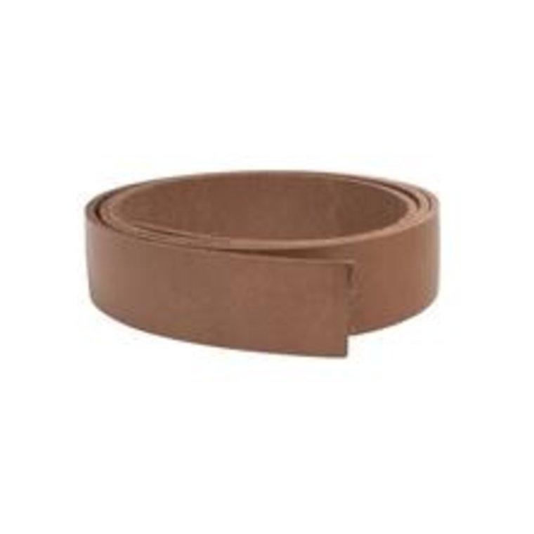 Stroken tuigleer bruin dikte 3 mm