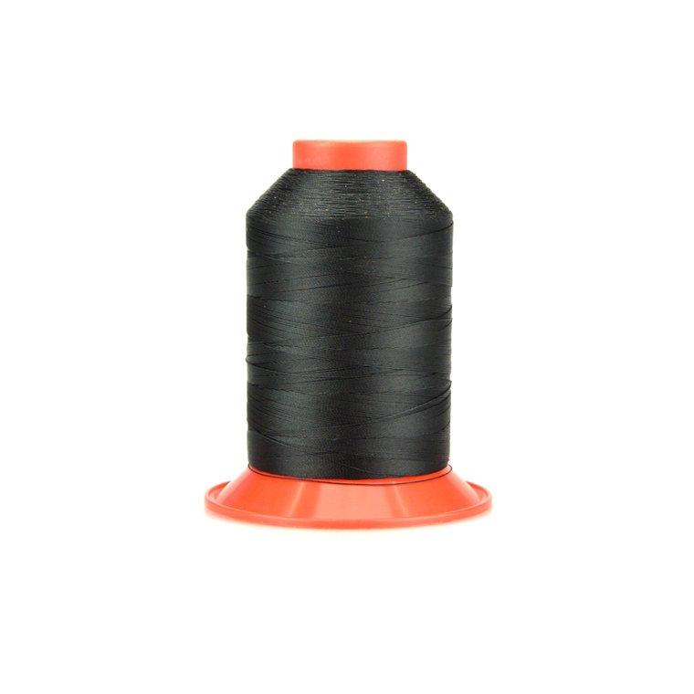 Nylon garen,  dikte 40, zwart
