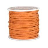 Ivan Leathercraft Vlechtband suedine, oranje