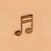 Ivan Leathercraft Muzieknoot figuurstempel 11,8 x 16,5 mm