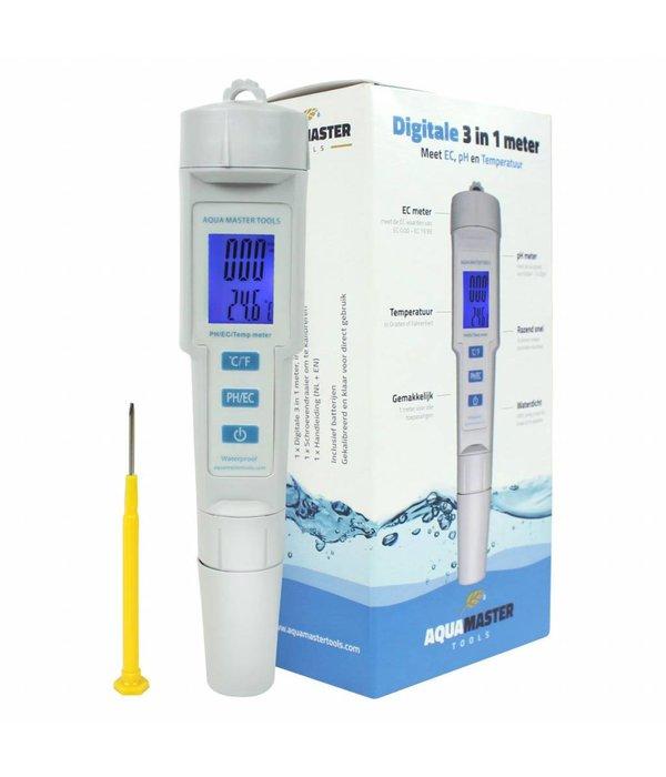 Aqua Master Tools 3 in 1 Meter
