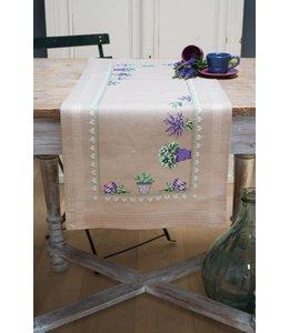 Vervaco Borduurpakket Loper lavendel