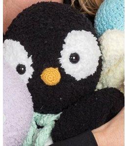 Garenpakket Knuffeldeken Pinguin