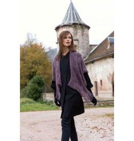 Lang Yarns Breipakket: Omslagdoek van Lang Yarns Magic Tweed