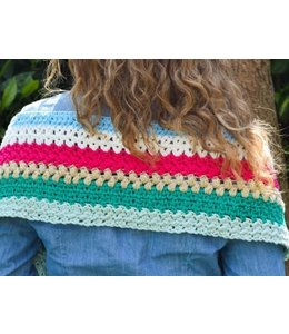 Durable Haakpakket: Ibiza sjaal van Durable Cosy & Glam