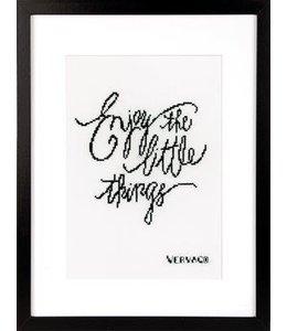 Vervaco Borduurpakket Enjoy the Little Things