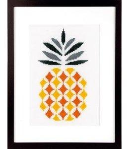 Vervaco Borduurpakket ananas