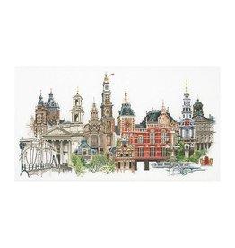 Thea Gouverneur Borduurpakket Amsterdam