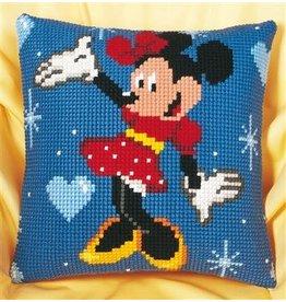 Vervaco Kussen Minnie Mouse