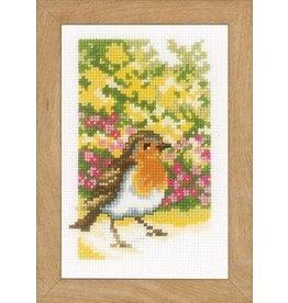 Vervaco Borduurpakket Vogels in de tuin