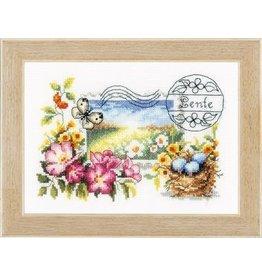 Vervaco Lente postzegel