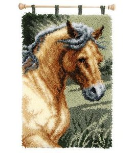 Vervaco Wandkleed paarden