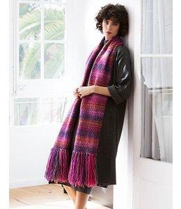 Gebreide sjaal van Katia Azteca Milrayas (10-12)