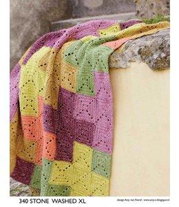 Scheepjes Gehaakte deken van Stone Washed XL (S 340)