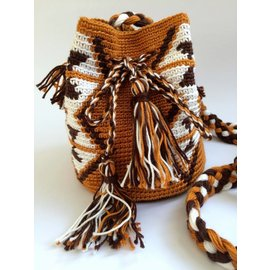 de ligny creations Mochila mini bag mocca