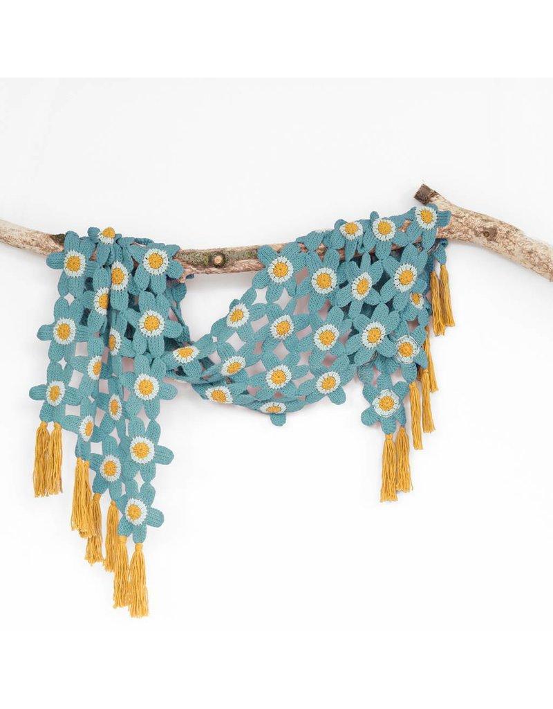 Durable Haakpakket: Tunesian Flower Shawl by Atty