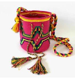 de ligny creations Haakpakket: Mochila Hot Pink