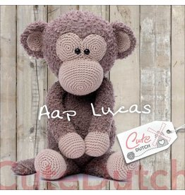 CuteDutch CuteDutch Garenpakket Aap Lucas