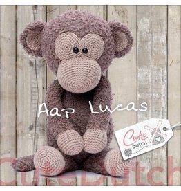 CuteDutch CuteDutch Garenpakket Aap Lucas