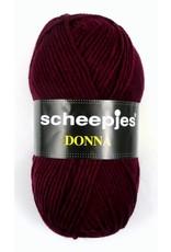 10 bollen Scheepjes Donna bordeaux (610)