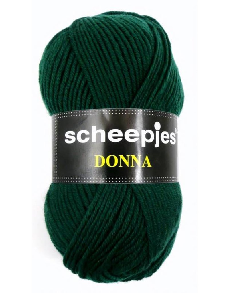 10 bollen Scheepjes Donna donkergroen (707)