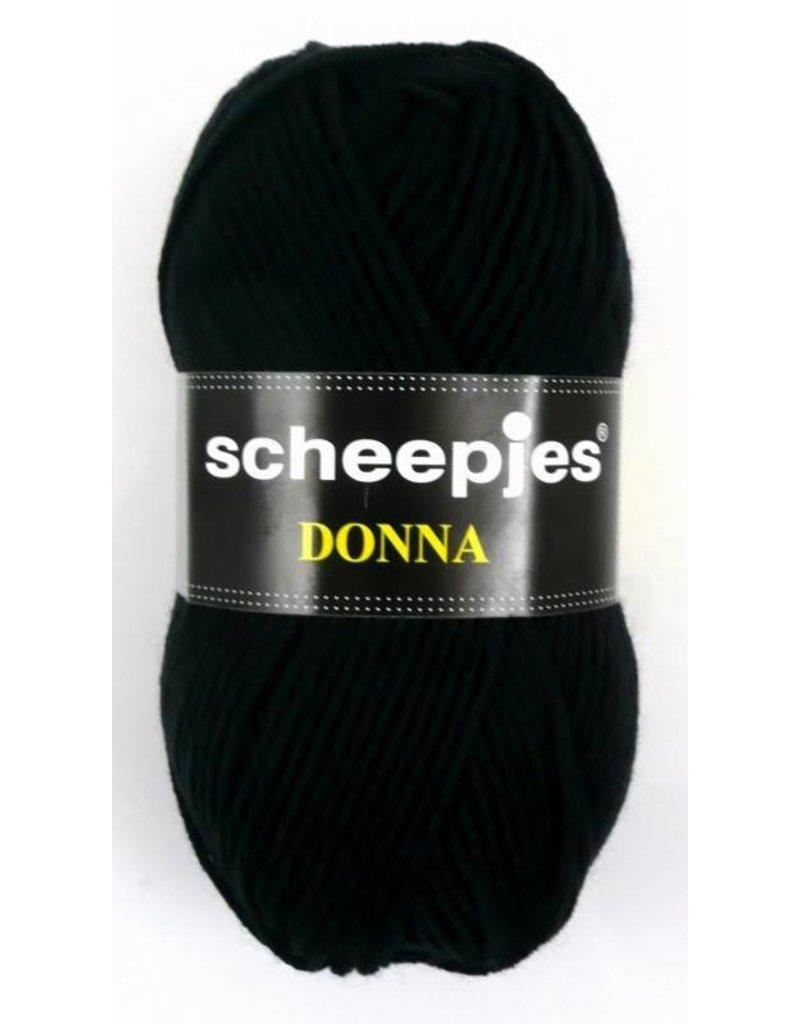 10 bollen Scheepjes Donna zwart (659)