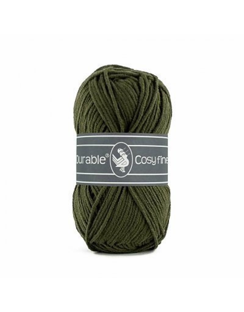 Durable 10 x Durable Cosy Fine Dark Olive (2149)
