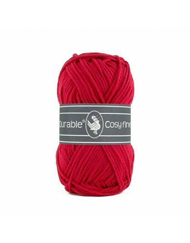 Durable 10 x Durable Cosy Fine Deep Red (317)
