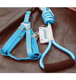 Touchdog Touchdog harnas met lijn blauw