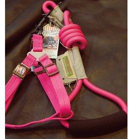 Touchdog Touchdog harnas met lijn roze