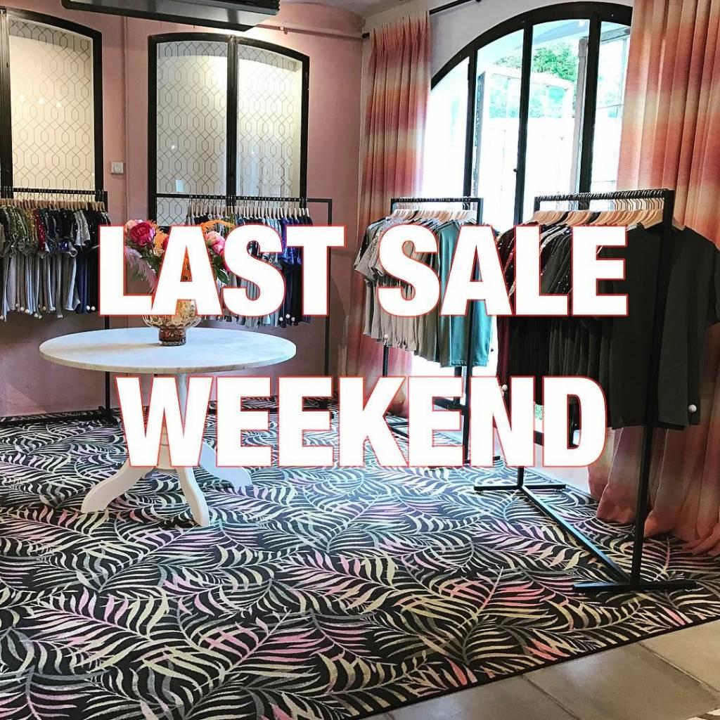 Last Sale Weekend