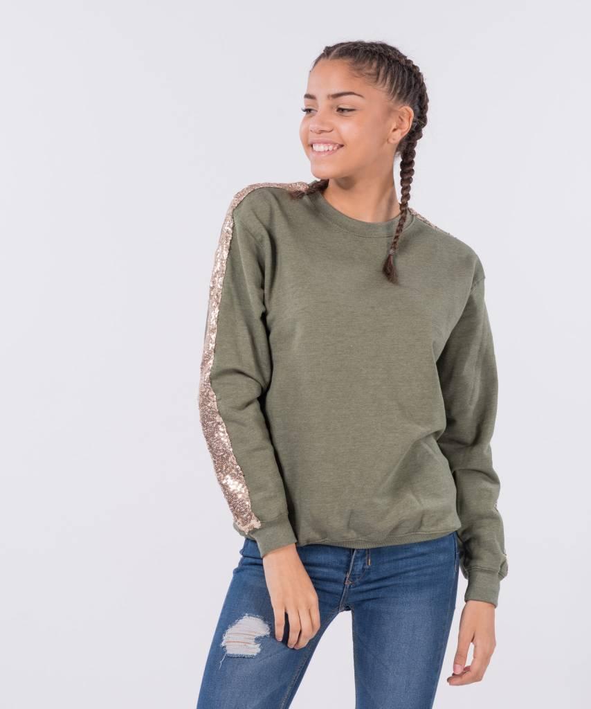 726920d63b4 Basic L M Sweater Khaki Cava